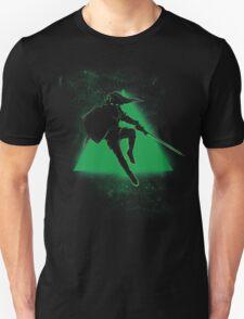 Silhouette Green Unisex T-Shirt