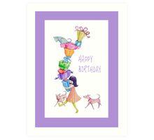 Gifts Girl Birthday Art Print