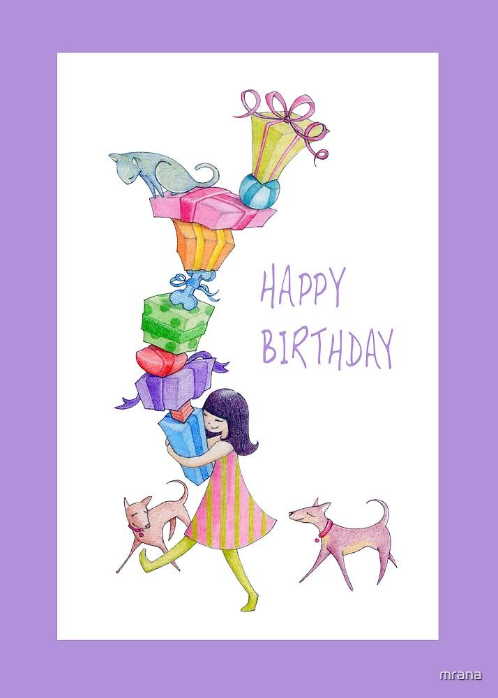 Gifts Girl Birthday by Mariana Musa