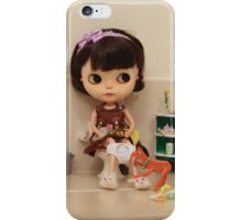 Never ever be alone iPhone Case/Skin