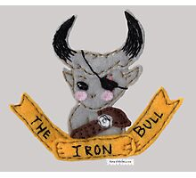 Dragon Age Inquisition chibi Iron Bull felt embroidery Photographic Print