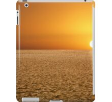 Sunrise on the Dune iPad Case/Skin