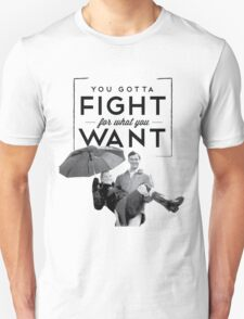 New York - Fight For What You Want Unisex T-Shirt