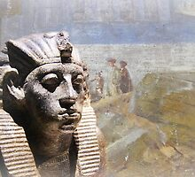 Amenemhat iii Pharaoh of Egypt by buttonpresser