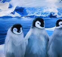 Trio of Penguins by Tillybo