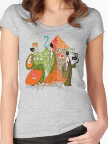 Spiders, IceCream & Morphine Women's Fitted Scoop T-Shirt