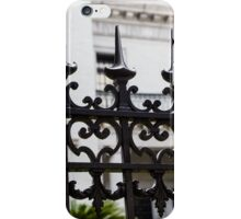 Black Iron Spikes iPhone Case/Skin
