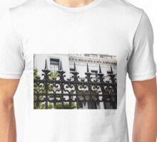 Black Iron Spikes Unisex T-Shirt