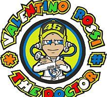 Valentino Rossi by fateagle