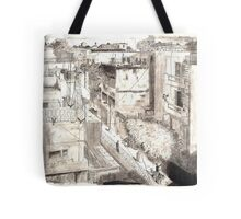 Delhi from a rooftop Tote Bag