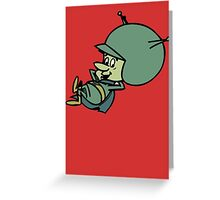 The Great Gazoo Greeting Card
