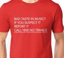 If you suspect it. Report it. Unisex T-Shirt