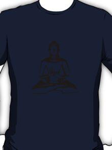 Buddha (Black Print) T-Shirt