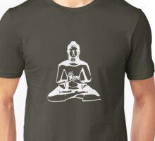 Buddha (White Print) Unisex T-Shirt