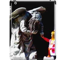 Unexpected meeting iPad Case/Skin