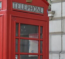 London Phone Box by Tom Shearsmith