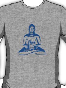 Buddha (Blue Print) T-Shirt