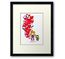 Suki Pops Framed Print