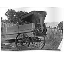 Utah Farming Equipment Poster