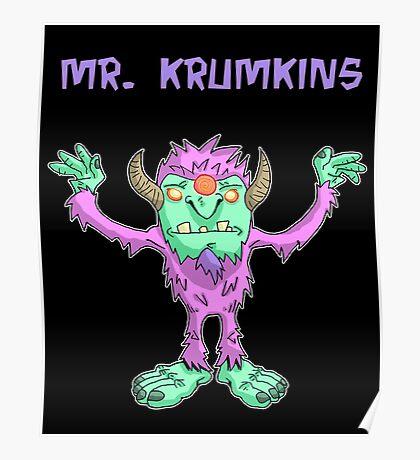 mr. krumkins... Poster