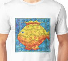 Patterned Fish Unisex T-Shirt