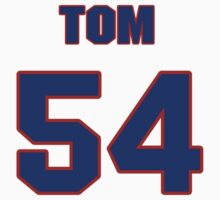 National baseball player Tom Waddell jersey 54 by imsport