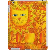 Patterned Lion iPad Case/Skin