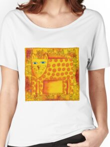 Patterned Leopard Women's Relaxed Fit T-Shirt