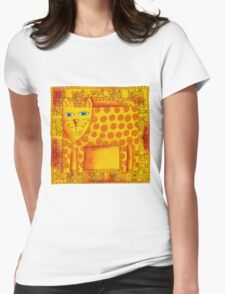 Patterned Leopard Womens Fitted T-Shirt