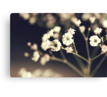 How lucky I am to have something, that makes saying goodbye so hard. Canvas Print