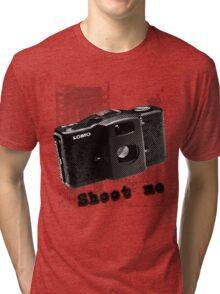 shoot me Tri-blend T-Shirt