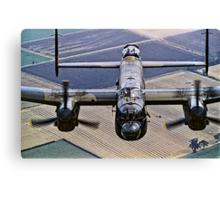 Lancaster B.1 up close and personal Canvas Print