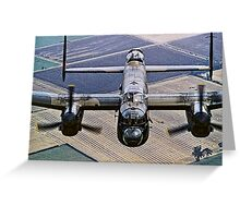 Lancaster B.1 up close and personal Greeting Card