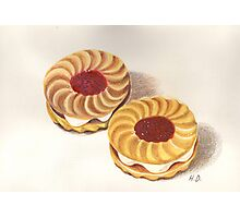 Jammy Dodgers Photographic Print