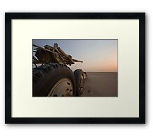 Lost Guns Framed Print