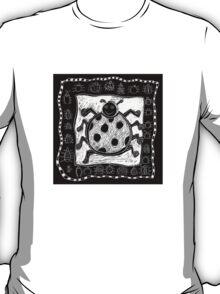 Black and White Ladybug T-Shirt