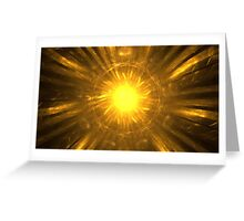Heliocentric Greeting Card