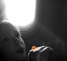 On a jet plane by Eliza Ferguson