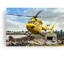 MBB BK.117C-1 G-RESC Air Ambulance arrival Canvas Print