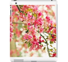 Pink and White Apple Blossoms  iPad Case/Skin
