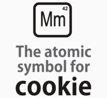 Atomic Symbol for Cookie Kids Tee