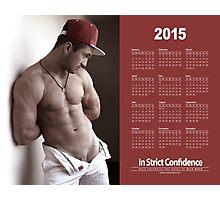 Red Cap Calendar Photographic Print