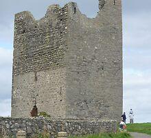 Easkey Castle by Aoife McNulty