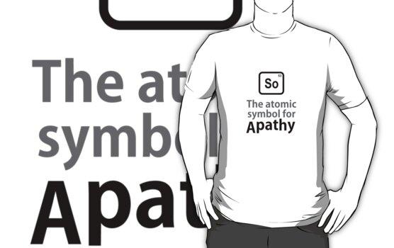 Atomic Symbol for Apathy by rudeboyskunk