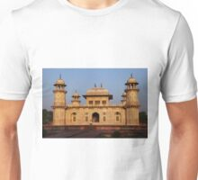 The Itmad-ud-Daula Tomb as the sun sets Unisex T-Shirt