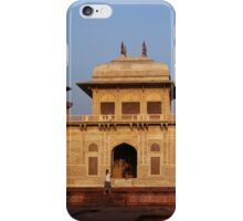 The Itmad-ud-Daula Tomb as the sun sets iPhone Case/Skin