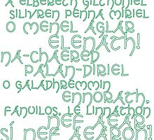 LotR A Elbereth Gilthoniel by Liritar
