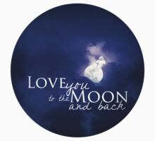 Love you to the moon and back Kids Clothes