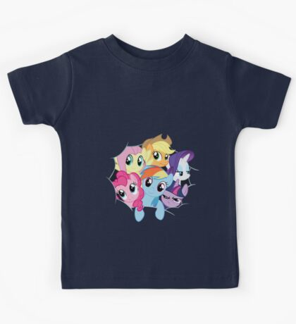 Mane Six Break Out! Kids Tee