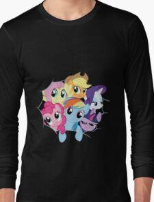 Mane Six Break Out! Long Sleeve T-Shirt